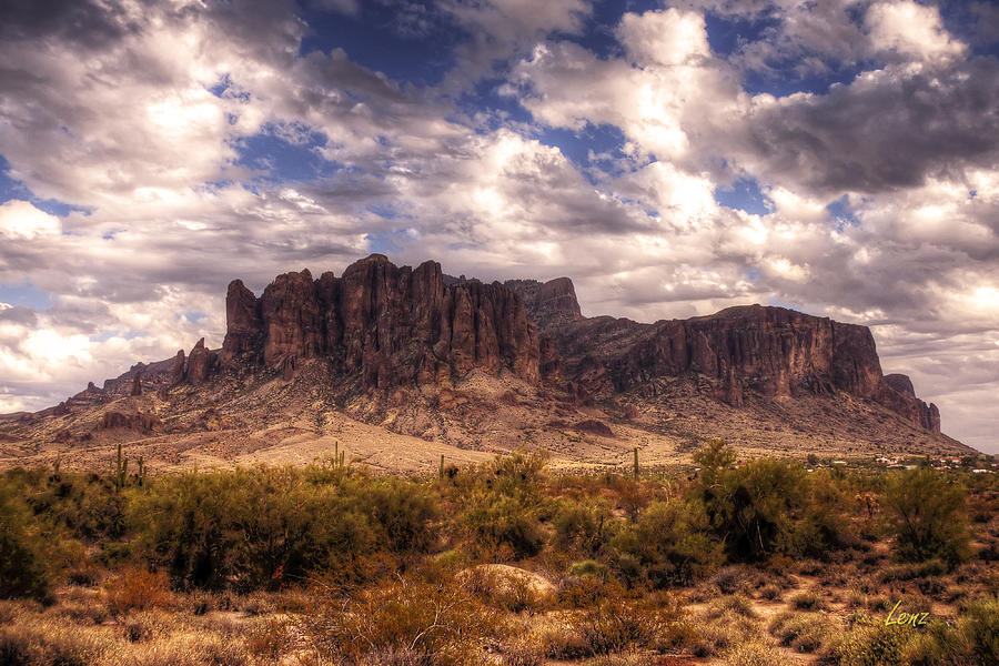 Desert Photograph - Supes-6 by George Lenz