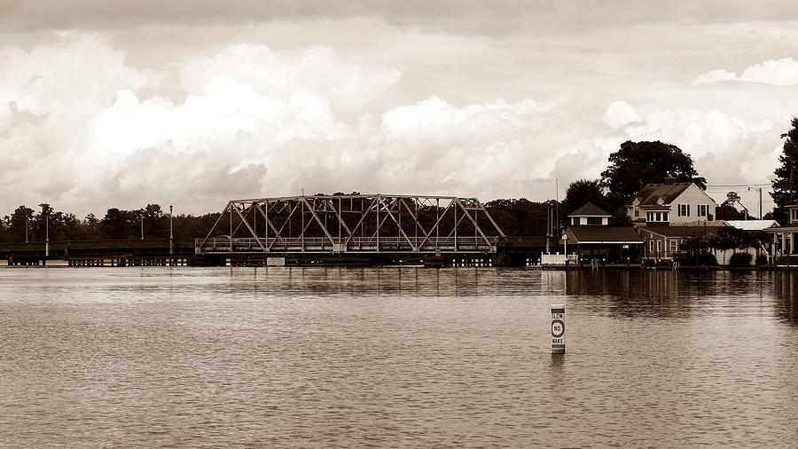 Bridge Photograph - Swing Bridge by Carolyn Ricks