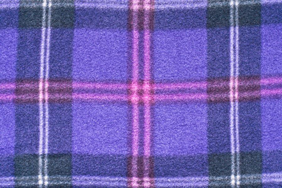 Tartan Pattern Photograph