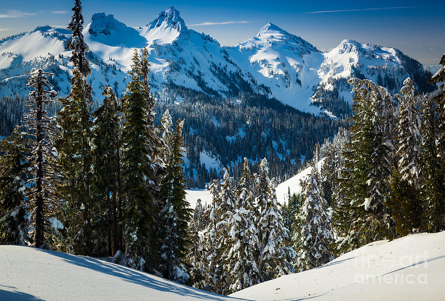Tatoosh Winter Wonderland Photograph