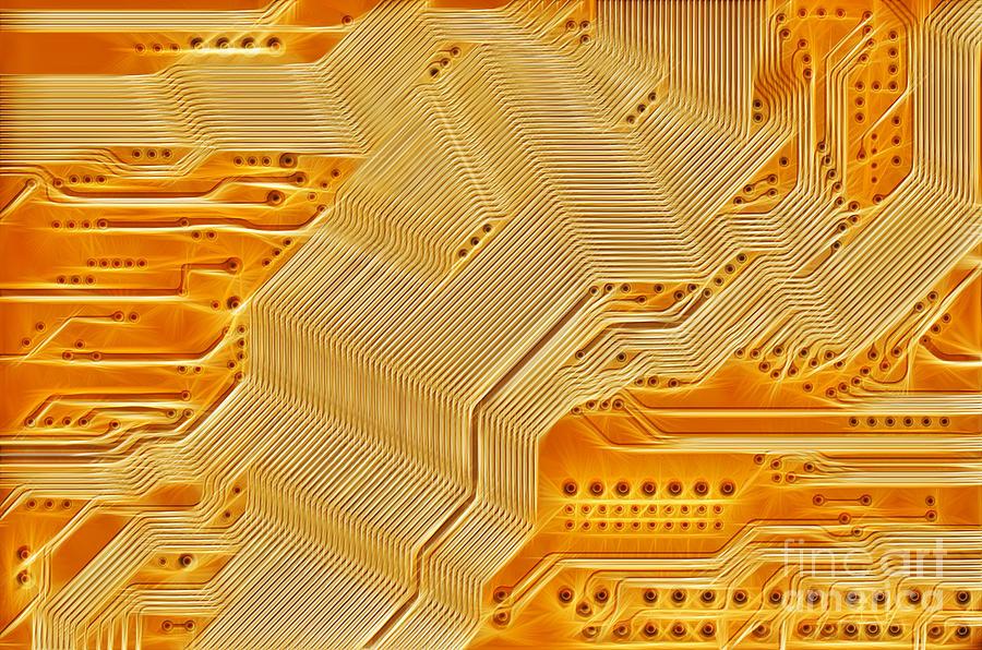 Technology Abstract Background Digital Art