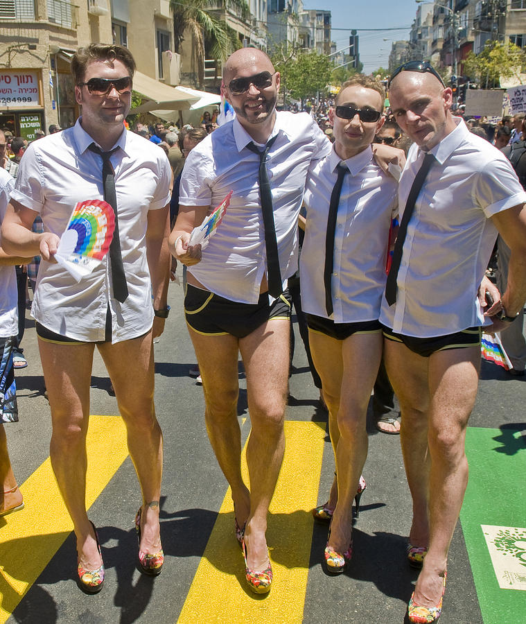 Tel Aviv Gay Pride Photograph