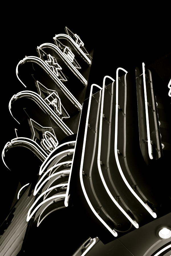 Texas Theatre Marquee Photograph  - Texas Theatre Marquee Fine Art Print
