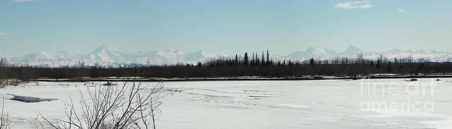The Alaska Range Photograph  - The Alaska Range Fine Art Print