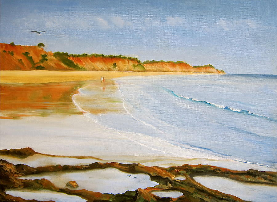 The Algarve Painting  - The Algarve Fine Art Print