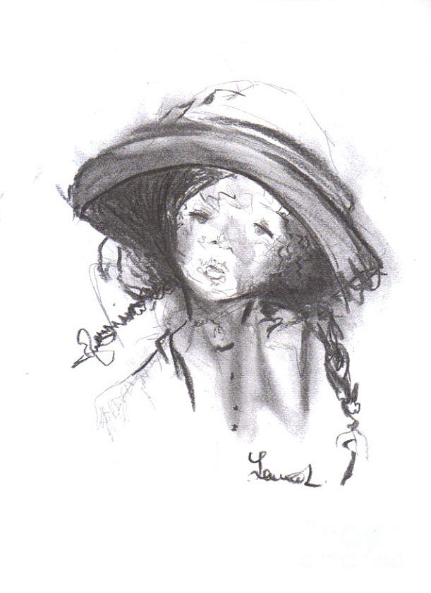The Bonnet Drawing