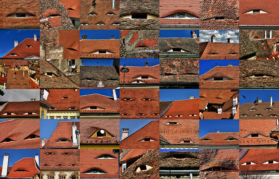 The Citys Eyes Sibiu Hermannstadt Romania Photograph