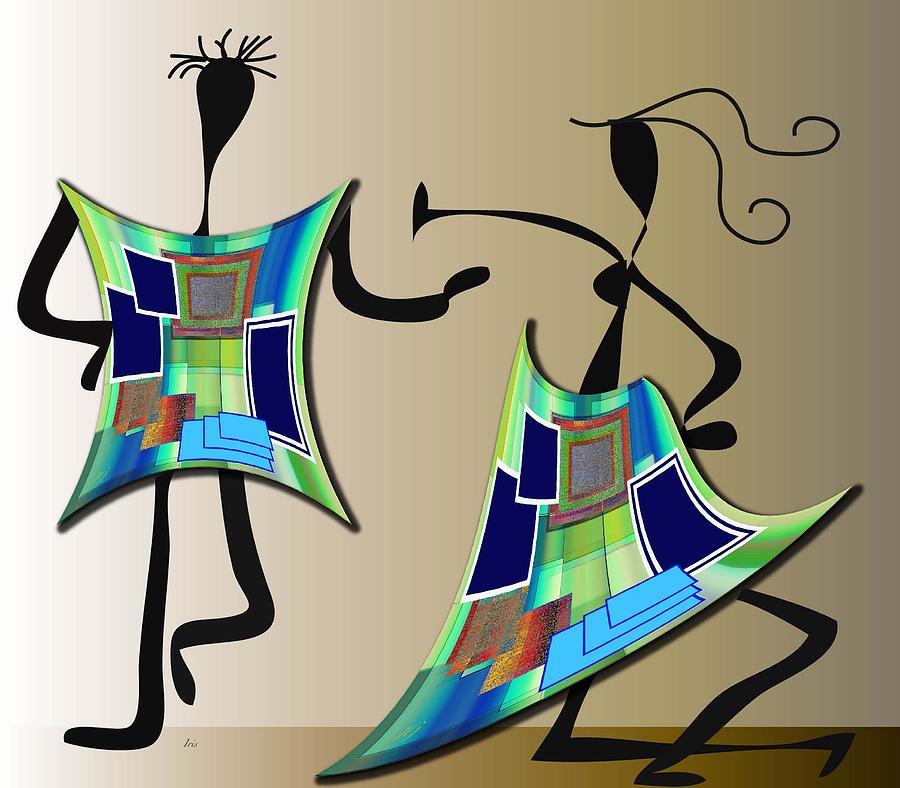 The Dancers Digital Art