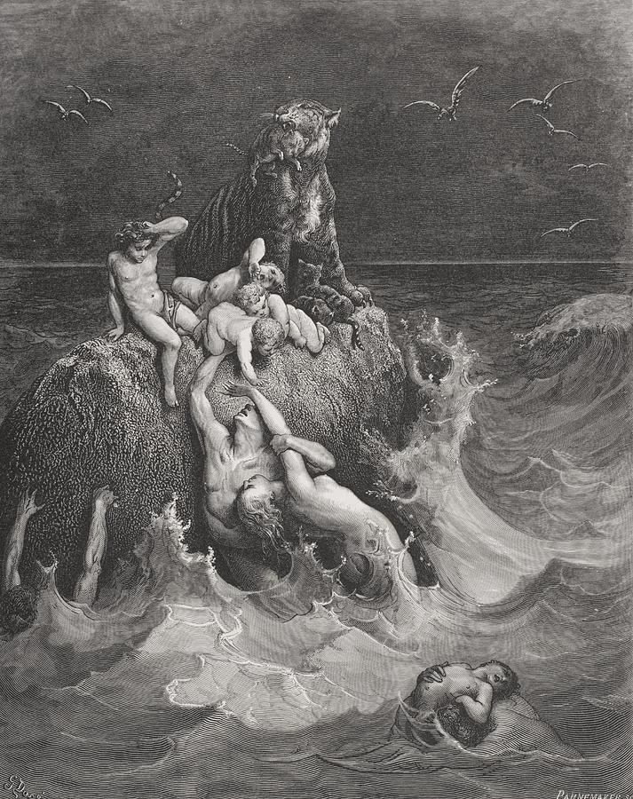 The Deluge Painting