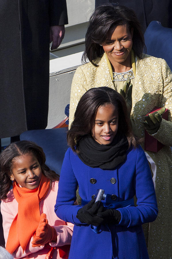 Barack Obama Photograph - The First Family by JP Tripp