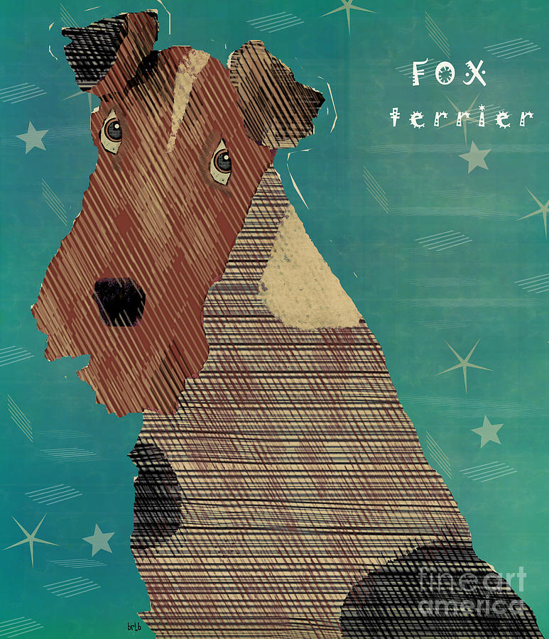 The Fox Terrier  Painting