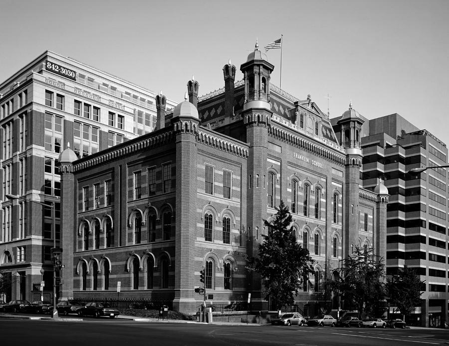 The Franklin School - Washington Dc Photograph
