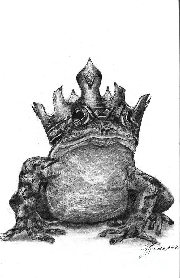 The Frog Prince Drawing