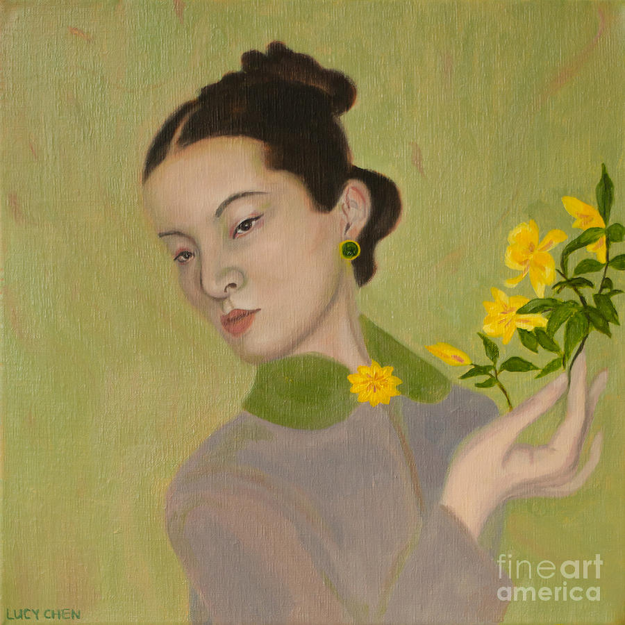 The Golden Kiss Of Spring Painting