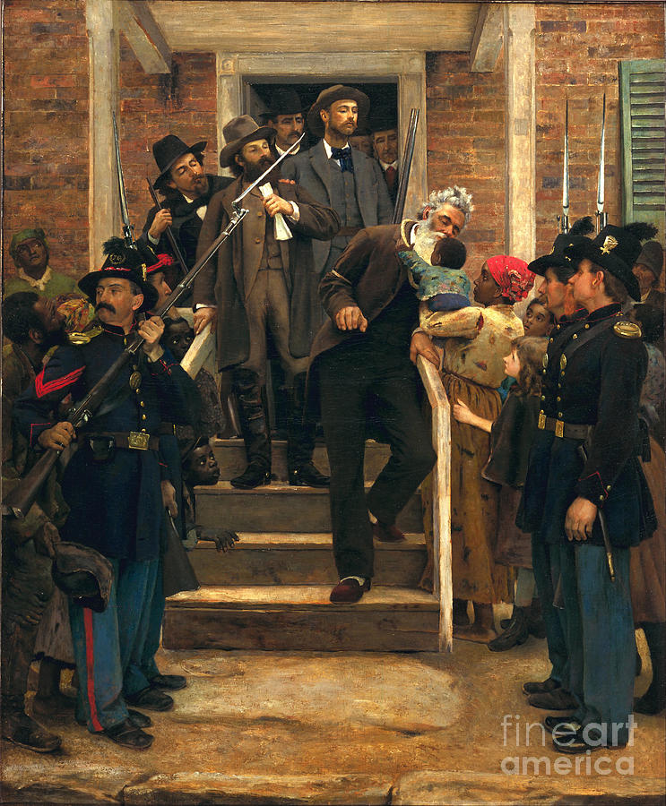 The Last Moments Of John Brown Painting