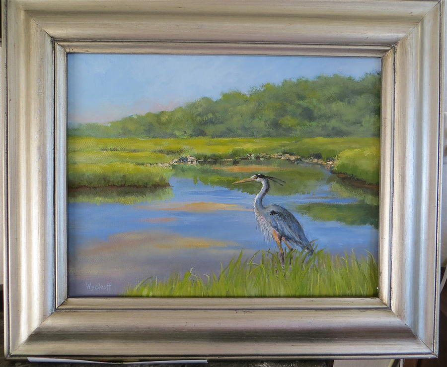 The Millway Marsh Painting