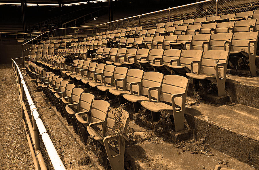 The Old Ballpark Photograph  - The Old Ballpark Fine Art Print