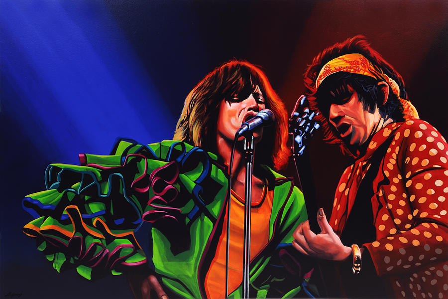 The Rolling Stones Painting