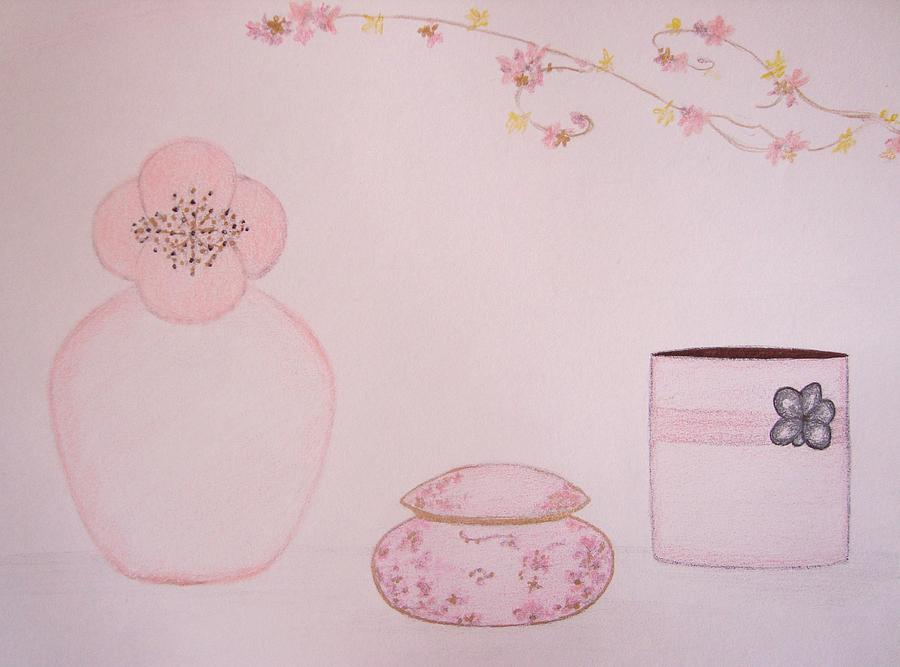 The Scent Of Pink  Drawing