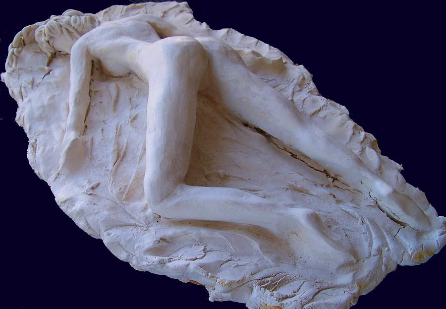 The Sleeping Pompeiiana Sculpture  - The Sleeping Pompeiiana Fine Art Print