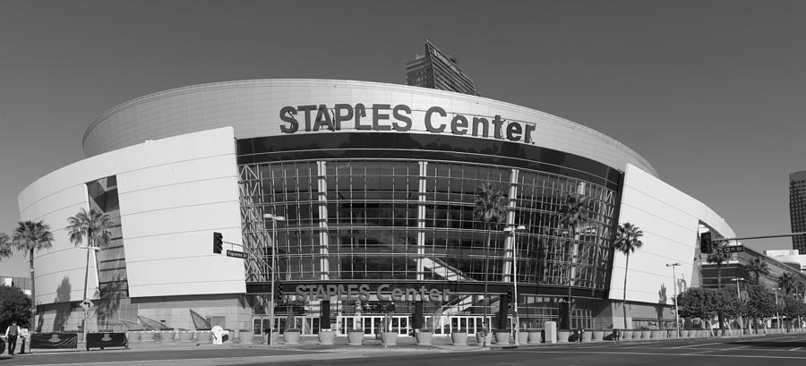 The Staples Center Photograph  - The Staples Center Fine Art Print