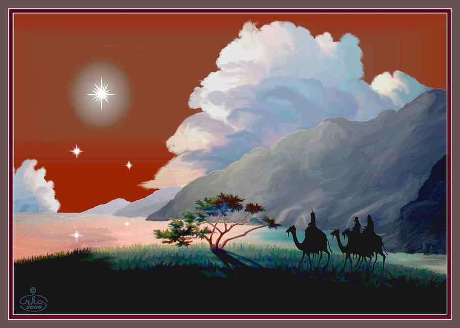 The Star Of Bethlehem Digital Art