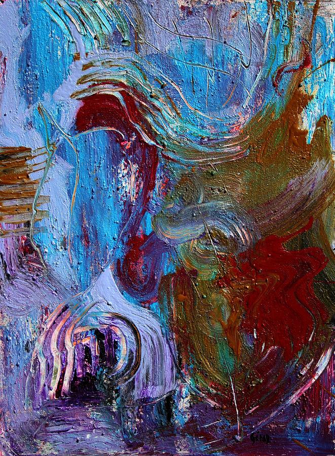 Art Painting - Thinking Machine by Oscar Penalber