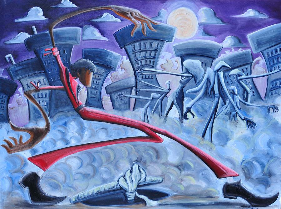 Thriller Painting