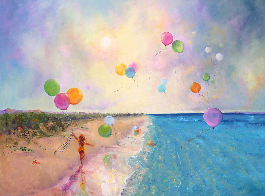 Tide Of Dreams Painting  - Tide Of Dreams Fine Art Print