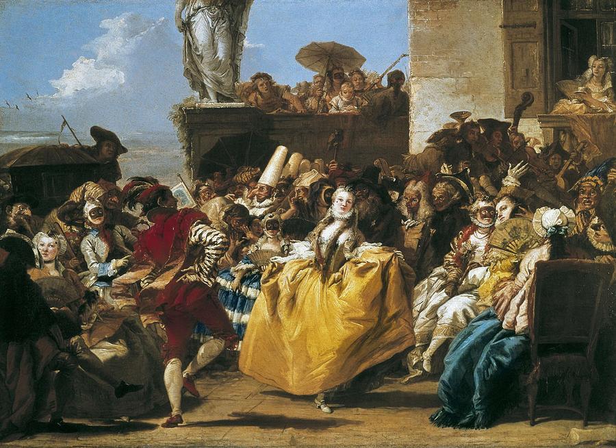 Horizontal Photograph - Tiepolo, Giovanni Domenico 1727-1804 by Everett