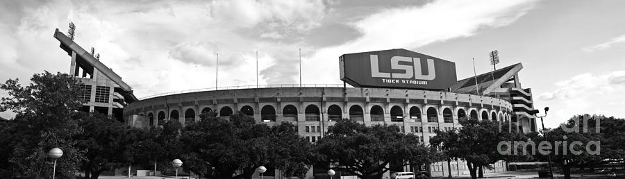 Tiger Stadium Panorama Photograph
