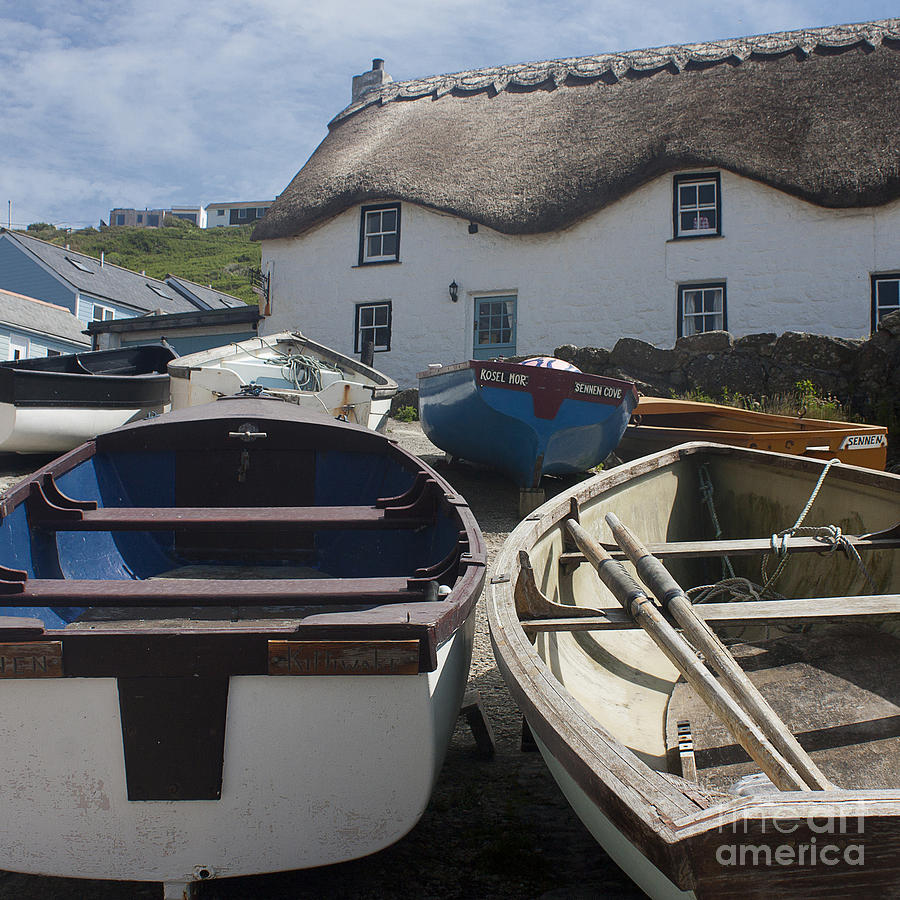Tinker Taylor Cottage Sennen Cove Cornwall Photograph