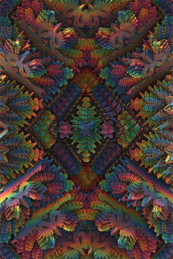 Totem digital art by lyle hatch Fine art america