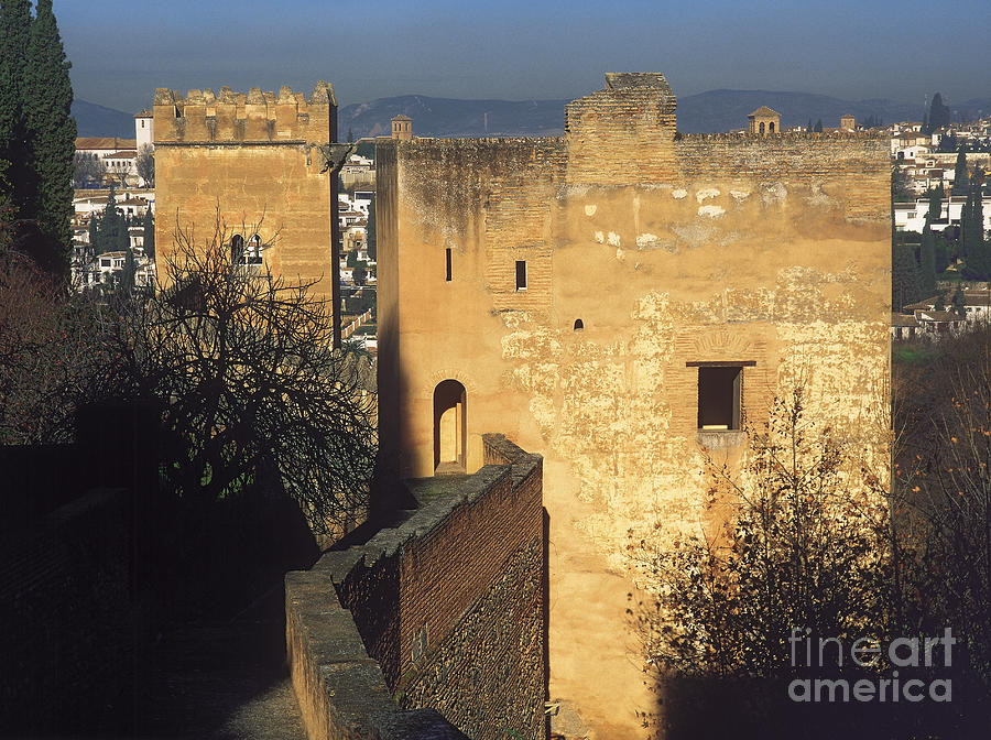 Tower Of The Cadi The Alhambra Photograph
