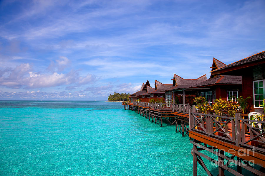 Tropical Resort Photograph