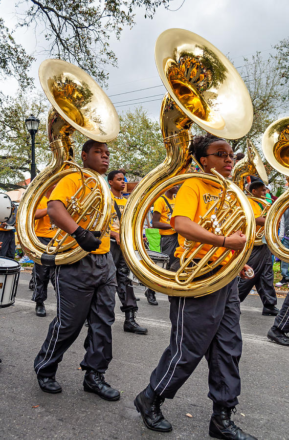 Tuba Brigade Photograph