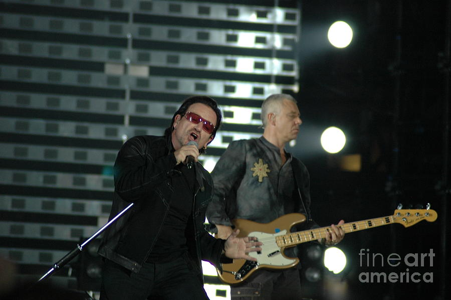 U2 Photograph
