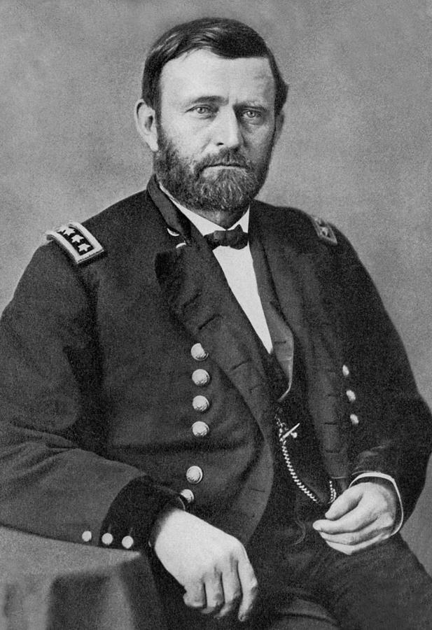 Portrait Photograph - Ulysses S Grant by American School