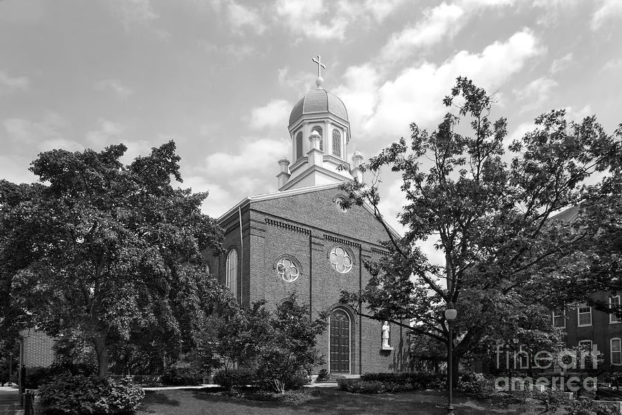 University Of Dayton Chapel Photograph