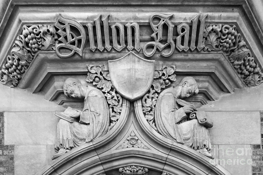 University Of Notre Dame Dillon Hall Photograph  - University Of Notre Dame Dillon Hall Fine Art Print