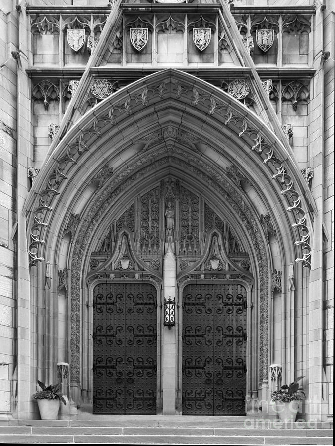 University Of Pittsburgh Heinz Memorial Chapel Photograph