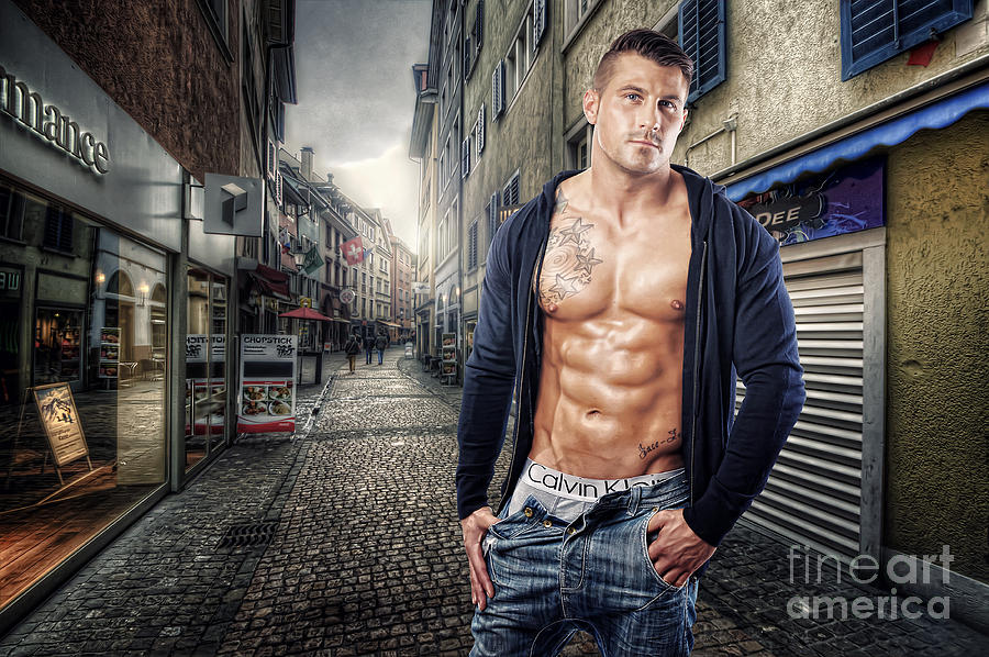 Urban Hunk 1.0 Photograph