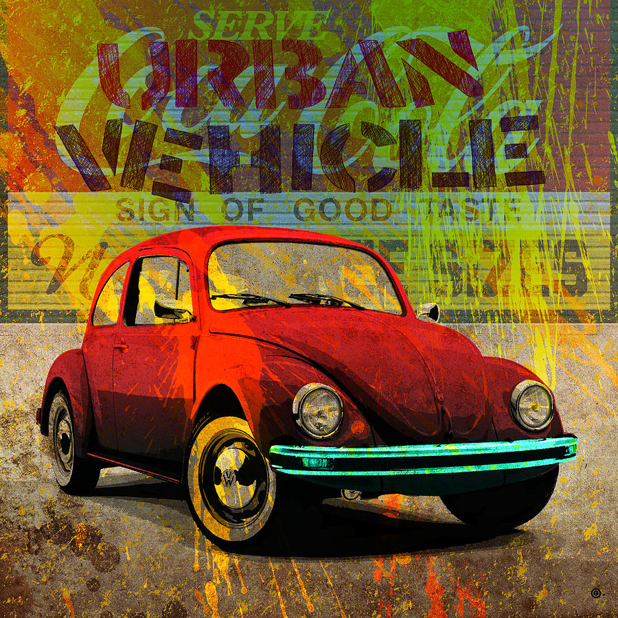 Urban Vehicle Digital Art