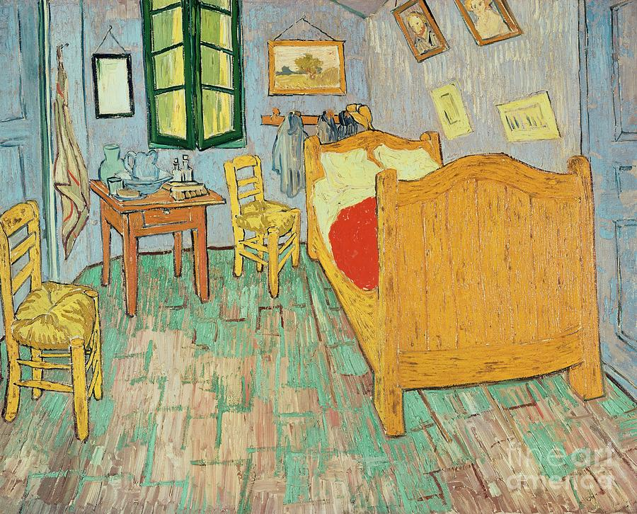 Van Goghs Bedroom At Arles Painting  - Van Goghs Bedroom At Arles Fine Art Print