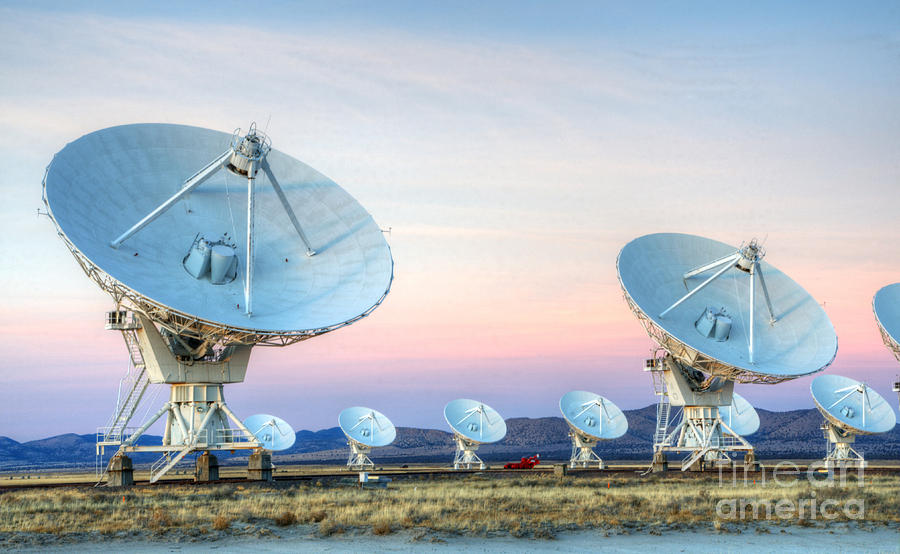Very Large Array Of Radio Telescopes  Photograph