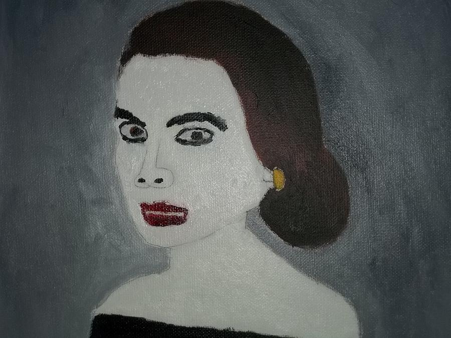 Vicious Woman In The 1960s Painting