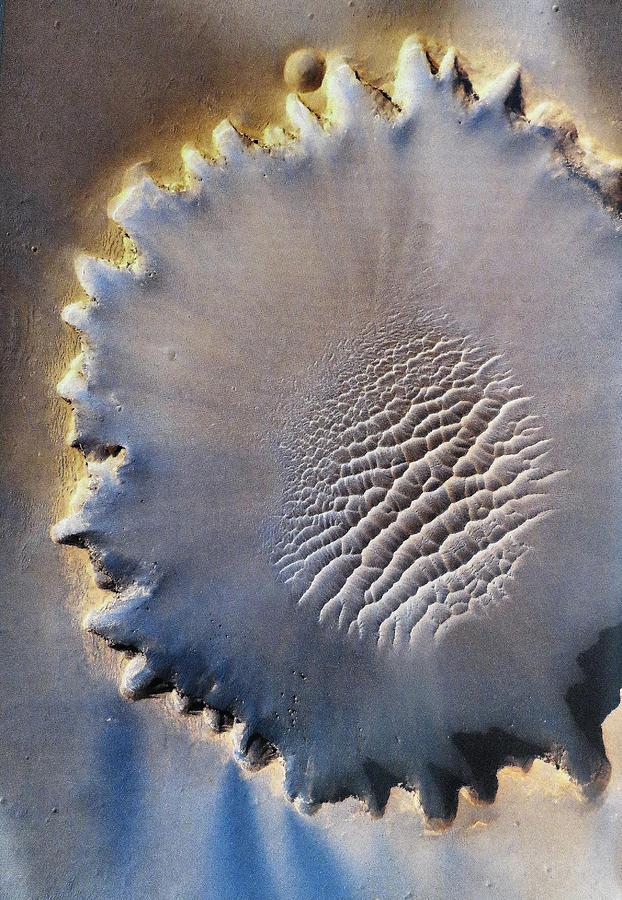 Crater Digital Art - Victoria Crater by Patricia Januszkiewicz