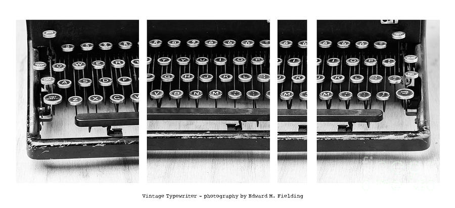 Vintage Typewriter Photograph