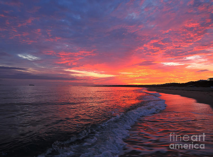 Virginia Beach Sunrise Photograph  - Virginia Beach Sunrise Fine Art Print