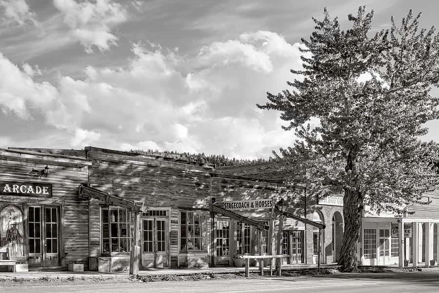 Virginia City Montana Ghost Town Photograph  - Virginia City Montana Ghost Town Fine Art Print